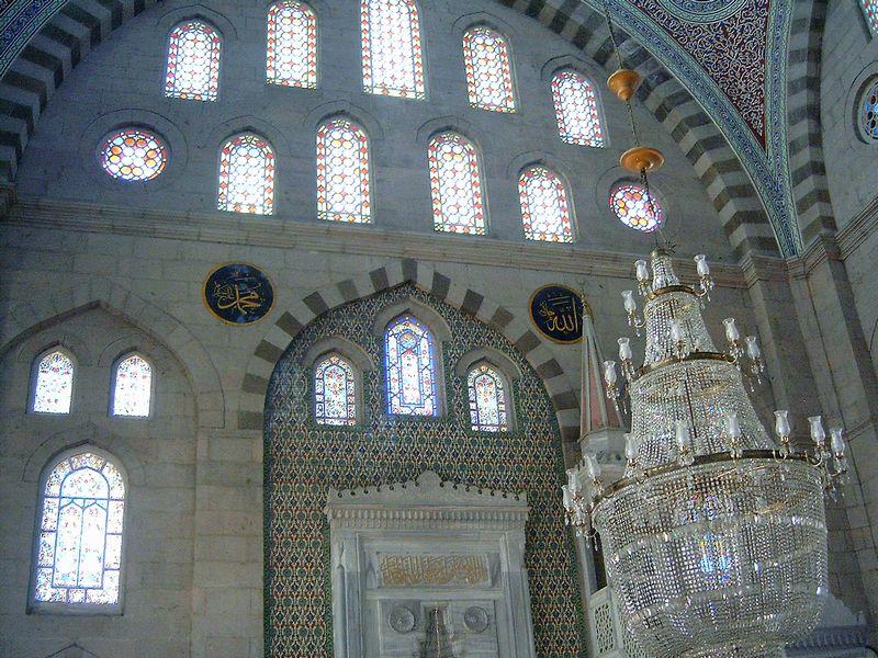 Interiér mešity